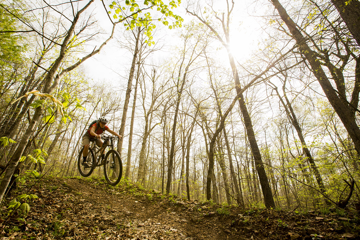 Upper Buffalo IMBA EPIC, made possible by LWCF