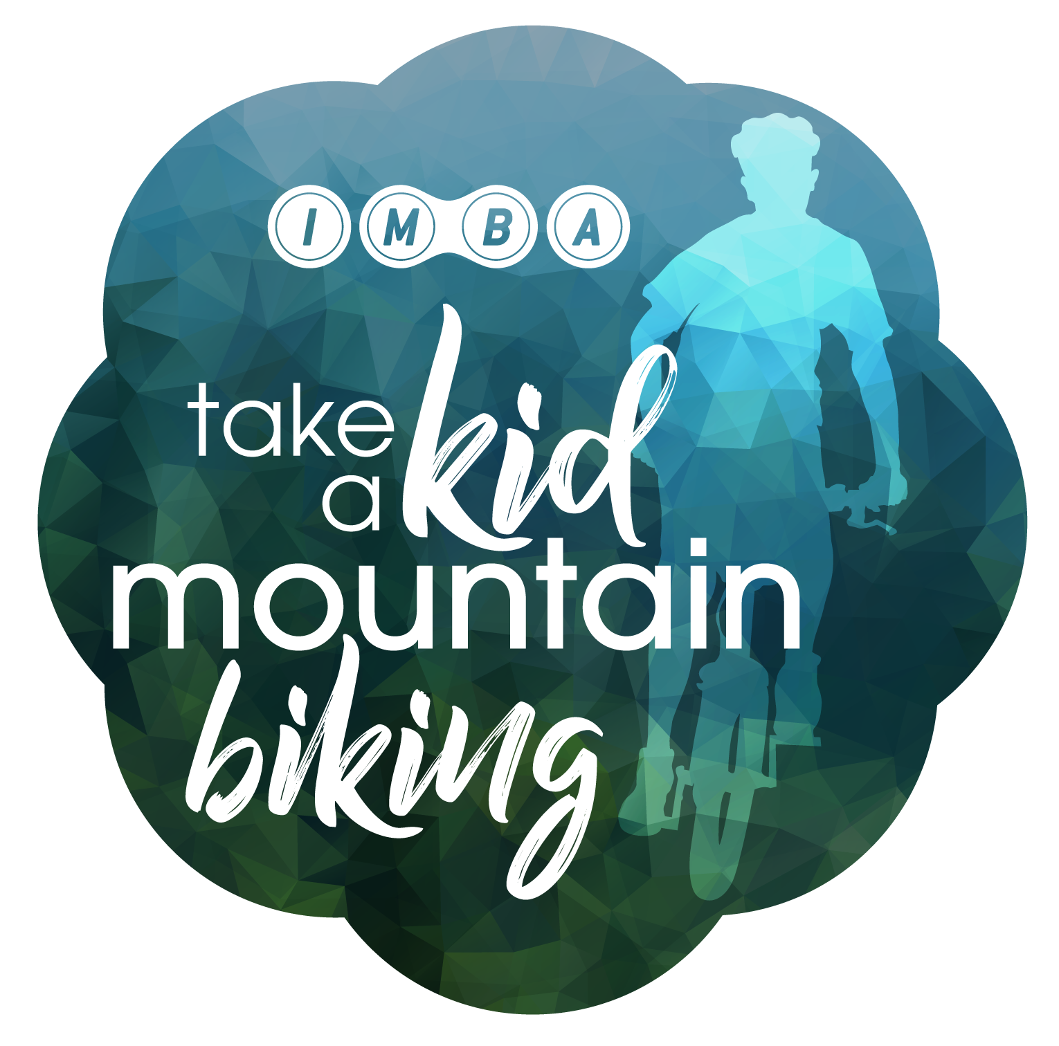 Take a Kid Mountain Biking Logo